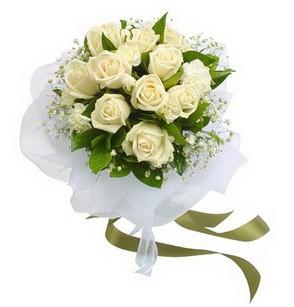 Muş online çiçekçi , çiçek siparişi  11 adet benbeyaz güllerden buket