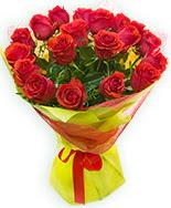 19 Adet kırmızı gül buketi  Muş çiçek siparişi vermek