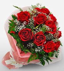 12 adet kırmızı güllerden kaliteli gül  Muş çiçek siparişi vermek
