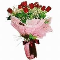 Muş çiçek siparişi sitesi  12 adet kirmizi kalite gül