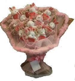 12 adet tavşan buketi  Muş çiçek mağazası , çiçekçi adresleri