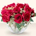 Muş çiçek online çiçek siparişi  mika yada cam içerisinde 10 gül - sevenler için ideal seçim -