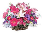küçük karisik özel sepet   Muş çiçek online çiçek siparişi