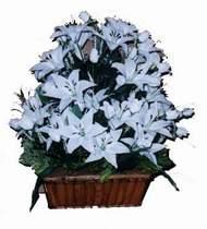 yapay karisik çiçek sepeti   Muş online çiçek gönderme sipariş