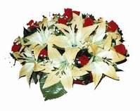 yapay karisik çiçek sepeti   Muş internetten çiçek siparişi