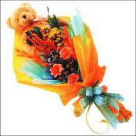 ayicik gül ve kir çiçekleri   Muş çiçekçi mağazası