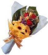 güller ve gerbera çiçekleri   Muş çiçek gönderme sitemiz güvenlidir