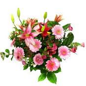 lilyum ve gerbera çiçekleri - çiçek seçimi -  Muş çiçek gönderme