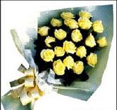 sari güllerden sade buket  Muş çiçek , çiçekçi , çiçekçilik