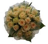 12 adet sari güllerden buket   Muş uluslararası çiçek gönderme