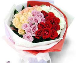 SEVENLERE ÖZEL 51 ADET GÜL  Muş internetten çiçek satışı