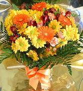 Muş hediye çiçek yolla  karma büyük ve gösterisli mevsim demeti