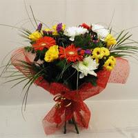 Muş hediye çiçek yolla  Karisik mevsim demeti