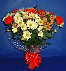 Muş hediye çiçek yolla  kir çiçekleri buketi mevsim demeti halinde