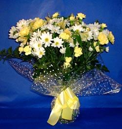 Muş hediye çiçek yolla  sade mevsim demeti buketi sade ve özel