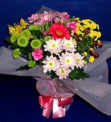 Muş hediye çiçek yolla  küçük karisik mevsim demeti