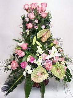 Muş ucuz çiçek gönder  özel üstü süper aranjman