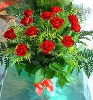 12 adet gül buketi  Muş anneler günü çiçek yolla