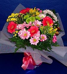 karisik sade mevsim demetligi   Muş 14 şubat sevgililer günü çiçek