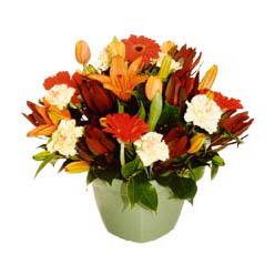mevsim çiçeklerinden karma aranjman  Muş çiçek yolla , çiçek gönder , çiçekçi
