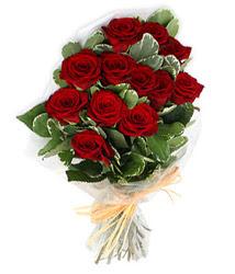 Muş çiçek yolla , çiçek gönder , çiçekçi   9 lu kirmizi gül buketi.