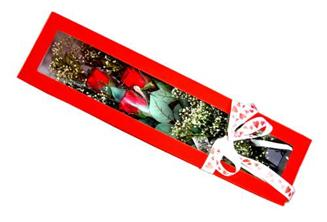 Muş hediye çiçek yolla  Kutuda 3 adet gül