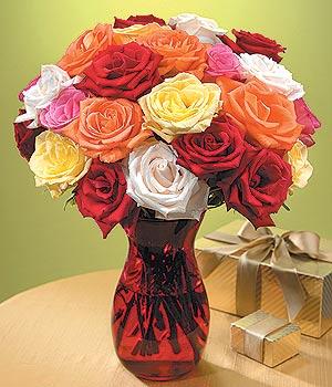Muş anneler günü çiçek yolla  13 adet renkli gül