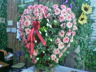 Muş çiçek gönderme  SEVDIKLERINIZE ÖZEL KALP PANO