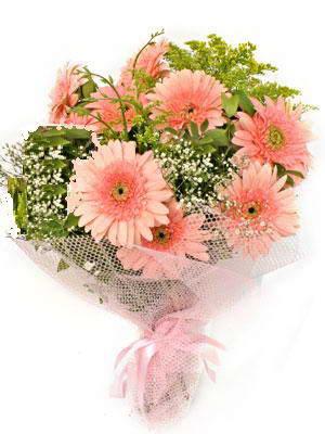 Muş çiçek satışı  11 adet gerbera çiçegi buketi