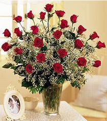 Muş çiçek , çiçekçi , çiçekçilik  özel günler için 12 adet kirmizi gül