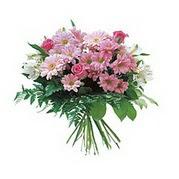 karisik kir çiçek demeti  Muş çiçek satışı