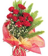 11 adet kaliteli görsel kirmizi gül  Muş çiçek satışı