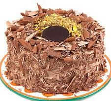 çikolatali 4 ile 6 kisilik yas pasta  Muş çiçek servisi , çiçekçi adresleri