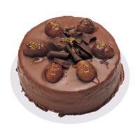 Kestaneli çikolatali yas pasta  Muş çiçek , çiçekçi , çiçekçilik
