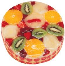 Meyvali 4 ile 6 kisilik yas pasta leziz  Muş hediye çiçek yolla