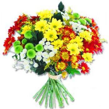 Kir çiçeklerinden buket modeli  Muş online çiçek gönderme sipariş