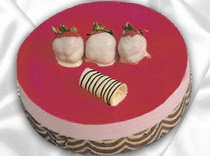 pasta siparisi 4 ile 6 kisilik yas pasta çilekli yaspasta  Muş çiçek servisi , çiçekçi adresleri