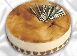 taze pasta 4 ile 6 kisilik yas pasta karamelli yaspasta  Muş çiçekçiler