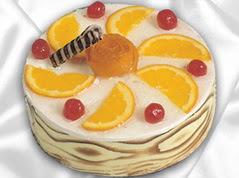 lezzetli pasta satisi 4 ile 6 kisilik yas pasta portakalli pasta  Muş çiçekçi mağazası