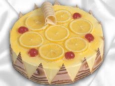 taze pastaci 4 ile 6 kisilik yas pasta limonlu yaspasta  Muş online çiçek gönderme sipariş