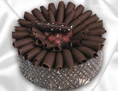 online pasta satisi 4 ile 6 kisilik çikolatali meyvali yaspasta  Muş cicekciler , cicek siparisi