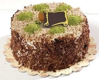 pasta gönderme 4 ile 6 kisilik çikolatali yas pasta  Muş çiçek satışı