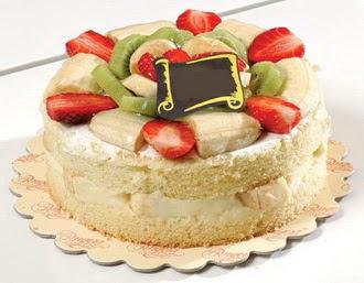 pasta siparisi 4 ile 6 kisilik karisik meyvali yas pasta  Muş çiçek servisi , çiçekçi adresleri