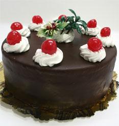 4 ile 6 kisilik yas pasta çikolatali taze pastaci  Muş anneler günü çiçek yolla