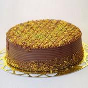 sanatsal pastaci 4 ile 6 kisilik krokan çikolatali yas pasta  Muş cicek , cicekci