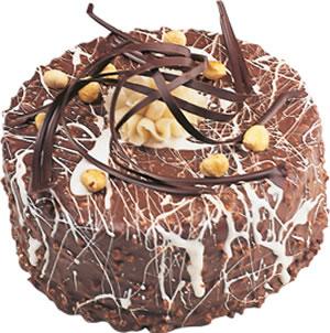 pasta satisi 4 ile 6 kisilik çikolatali yas pasta  Muş İnternetten çiçek siparişi