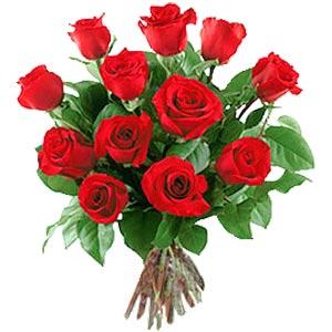 11 adet bakara kirmizi gül buketi  Muş güvenli kaliteli hızlı çiçek
