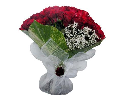 25 adet kirmizi gül görsel çiçek modeli  Muş çiçek servisi , çiçekçi adresleri