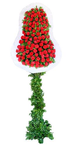 Dügün nikah açilis çiçekleri sepet modeli  Muş İnternetten çiçek siparişi