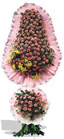 Dügün nikah açilis çiçekleri sepet modeli  Muş çiçekçi telefonları